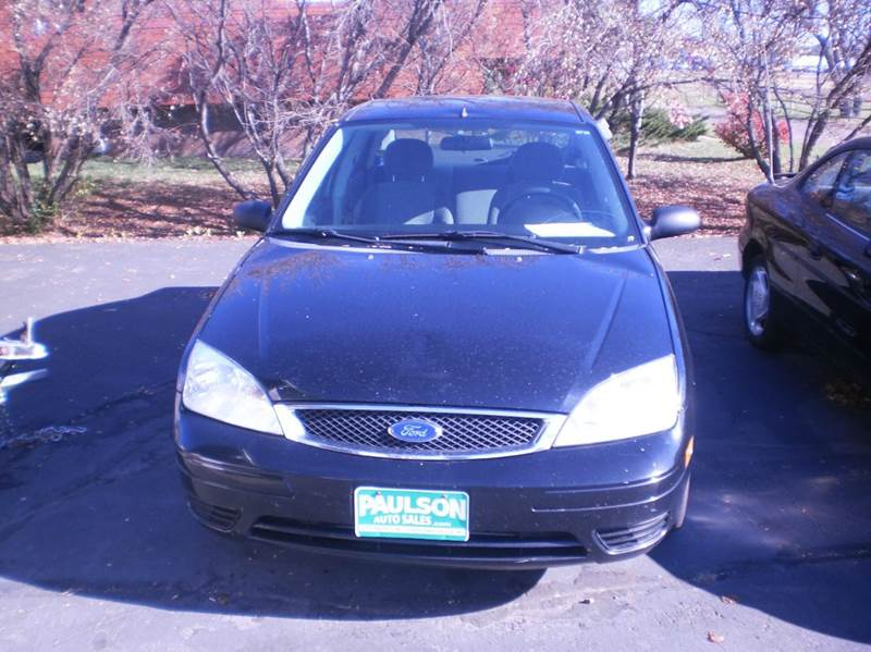 2007 Ford Focus ZX4 SE 4dr Sedan - Chippewa Falls WI