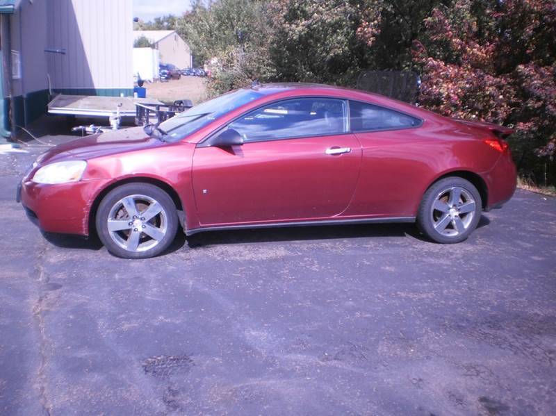 2009 Pontiac G6 GT 2dr Coupe w/1SA - Chippewa Falls WI