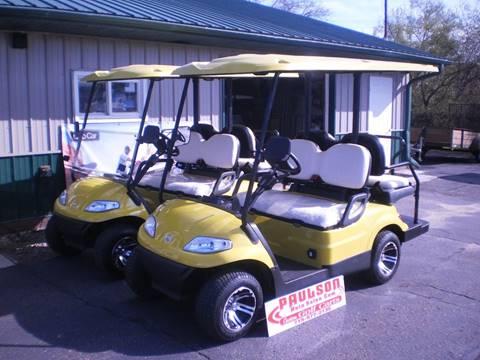 2017 andvanced EV golf cart