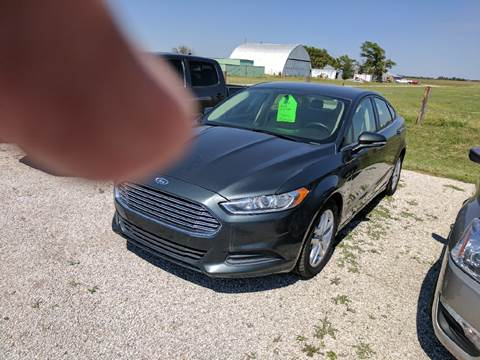 2015 Ford Fusion for sale in Halstead, KS