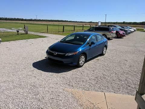 2012 Honda Civic for sale in Halstead, KS
