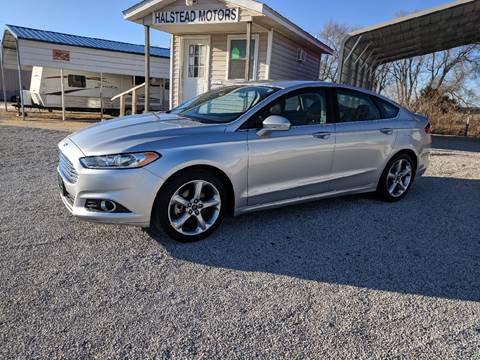 2014 Ford Fusion for sale at Halstead Motors LLC in Halstead KS