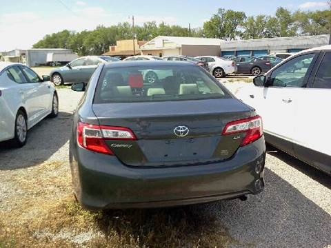 2014 Toyota Camry for sale at Halstead Motors LLC in Halstead KS