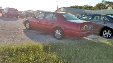 2005 Cadillac DeVille for sale at Halstead Motors LLC in Halstead KS