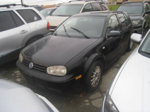2003 Volkswagen Golf for sale at BEST CAR MARKET INC in Mc Lean IL