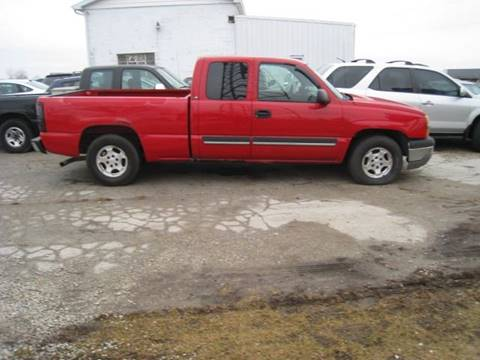 2003 Chevrolet Silverado 1500 for sale at BEST CAR MARKET INC in Mc Lean IL