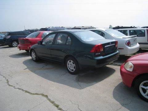 2002 Honda Civic for sale at BEST CAR MARKET INC in Mc Lean IL