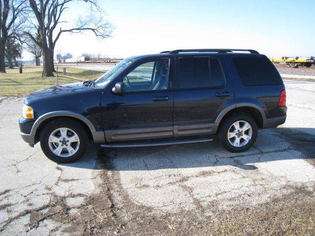 2003 Ford Explorer for sale at BEST CAR MARKET INC in Mc Lean IL