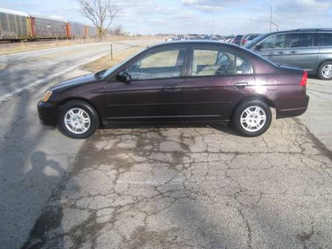 2001 Honda Civic for sale at BEST CAR MARKET INC in Mc Lean IL