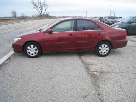 2004 Toyota Camry for sale at BEST CAR MARKET INC in Mc Lean IL