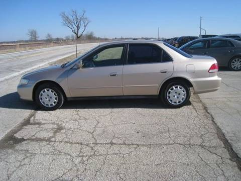2001 Honda Accord for sale at BEST CAR MARKET INC in Mc Lean IL