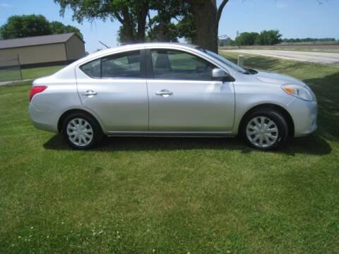 2012 Nissan Versa for sale at BEST CAR MARKET INC in Mc Lean IL