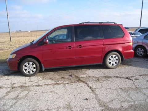 2002 Honda Odyssey for sale at BEST CAR MARKET INC in Mc Lean IL