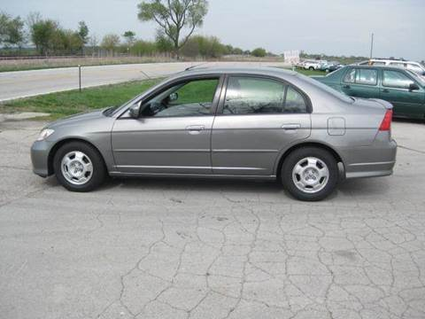 2004 Honda Civic for sale at BEST CAR MARKET INC in Mc Lean IL