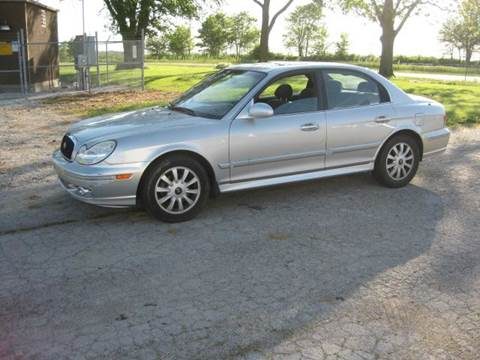 2005 Hyundai Sonata for sale at BEST CAR MARKET INC in Mc Lean IL