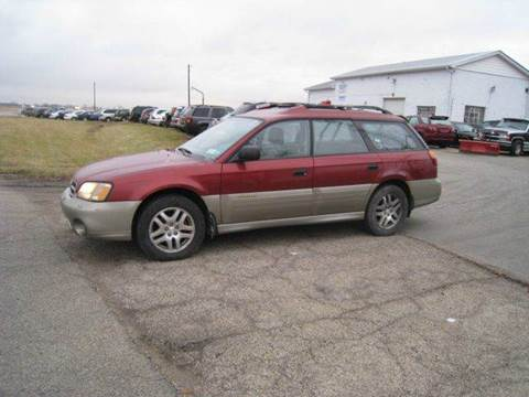 2002 Subaru Outback for sale at BEST CAR MARKET INC in Mc Lean IL