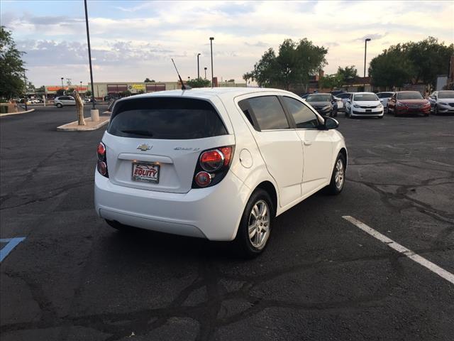 2013 Chevrolet Sonic for sale at EQUITY AUTO CENTER GLENDALE in Glendale AZ
