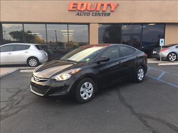 2016 Hyundai Elantra for sale at EQUITY AUTO CENTER GLENDALE in Glendale AZ