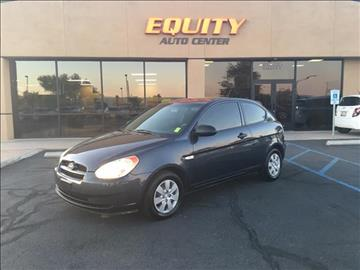 2008 Hyundai Accent for sale at EQUITY AUTO CENTER GLENDALE in Glendale AZ