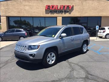 2016 Jeep Compass for sale at EQUITY AUTO CENTER GLENDALE in Glendale AZ