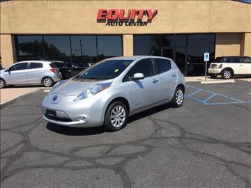 2013 Nissan LEAF for sale at EQUITY AUTO CENTER GLENDALE in Glendale AZ