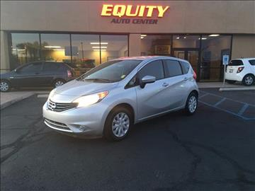 2016 Nissan Versa Note for sale at EQUITY AUTO CENTER GLENDALE in Glendale AZ