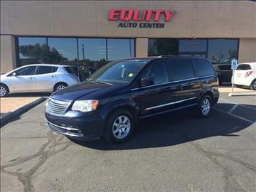 2013 Chrysler Town and Country for sale at EQUITY AUTO CENTER GLENDALE in Glendale AZ