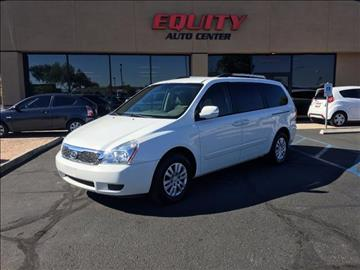 2012 Kia Sedona for sale at EQUITY AUTO CENTER GLENDALE in Glendale AZ