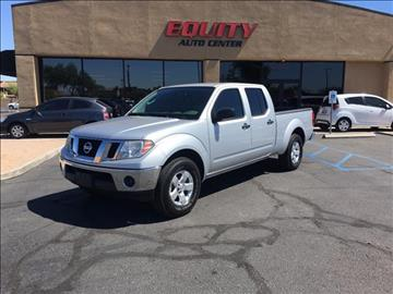 2010 Nissan Frontier for sale at EQUITY AUTO CENTER GLENDALE in Glendale AZ