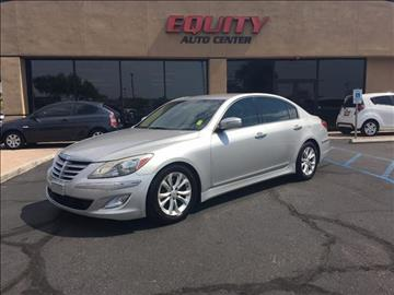 2012 Hyundai Genesis for sale at EQUITY AUTO CENTER GLENDALE in Glendale AZ