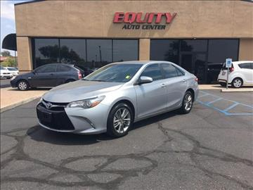 2016 Toyota Camry for sale at EQUITY AUTO CENTER GLENDALE in Glendale AZ