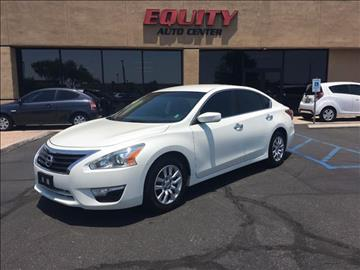 2013 Nissan Altima for sale at EQUITY AUTO CENTER GLENDALE in Glendale AZ