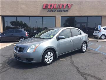 2007 Nissan Sentra for sale at EQUITY AUTO CENTER GLENDALE in Glendale AZ