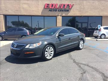 2012 Volkswagen CC for sale at EQUITY AUTO CENTER GLENDALE in Glendale AZ