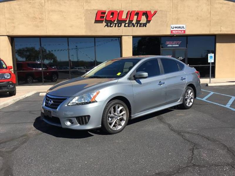 2013 Nissan Sentra For Sale At EQUITY AUTO CENTER GLENDALE In Glendale AZ