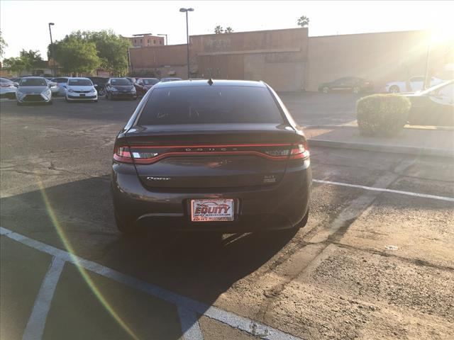 2016 Dodge Dart for sale at EQUITY AUTO CENTER GLENDALE in Glendale AZ