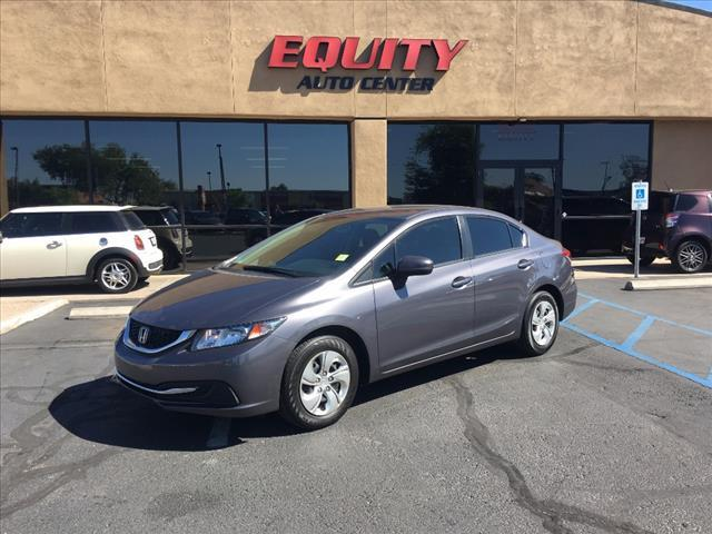 2014 Honda Civic for sale at EQUITY AUTO CENTER GLENDALE in Glendale AZ