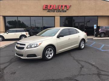 2013 Chevrolet Malibu for sale at EQUITY AUTO CENTER GLENDALE in Glendale AZ