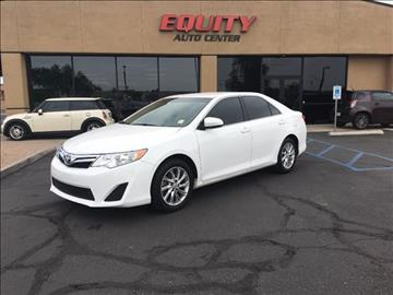2014 Toyota Camry for sale at EQUITY AUTO CENTER GLENDALE in Glendale AZ