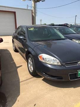 2008 Chevrolet Impala for sale at 4 B CAR CORNER in Anadarko OK
