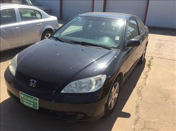2004 Honda Civic for sale at 4 B CAR CORNER in Anadarko OK