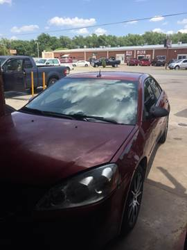 2008 Pontiac G6 for sale at 4 B CAR CORNER in Anadarko OK