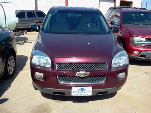 2008 Chevrolet Uplander for sale at 4 B CAR CORNER in Anadarko OK