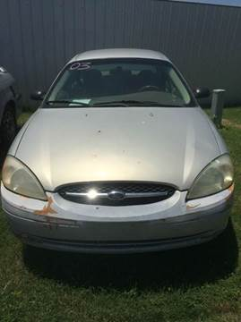 2003 Ford Taurus for sale at 4 B CAR CORNER in Anadarko OK
