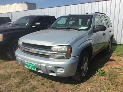 2007 Chevrolet TrailBlazer for sale at 4 B CAR CORNER in Anadarko OK