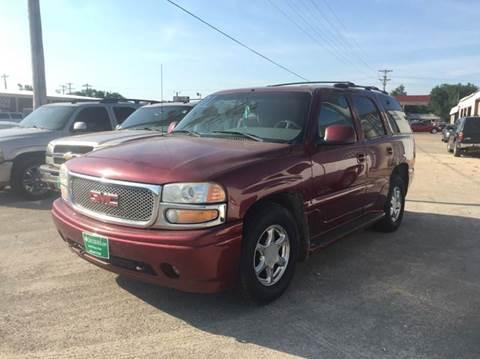 2001 GMC Yukon for sale at 4 B CAR CORNER in Anadarko OK