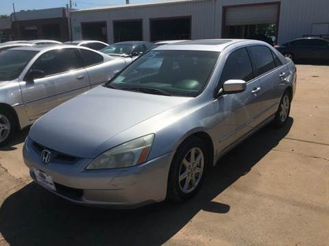 2003 Honda Accord for sale at 4 B CAR CORNER in Anadarko OK