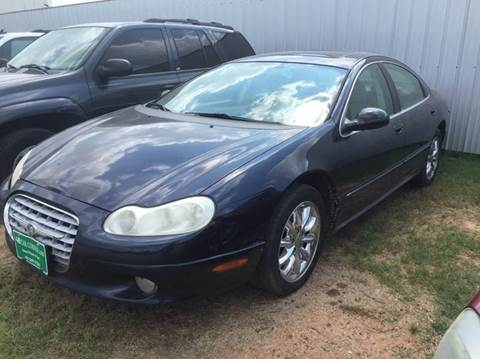 2003 Chrysler Concorde for sale at 4 B CAR CORNER in Anadarko OK