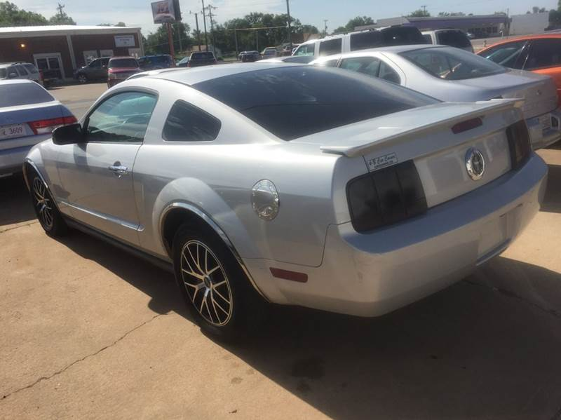 2007 ford mustang v6 deluxe 2dr coupe in anadarko ok 4 b car corner contact publicscrutiny Image collections
