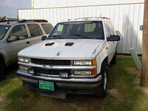 1998 Chevrolet Tahoe for sale at 4 B CAR CORNER in Anadarko OK